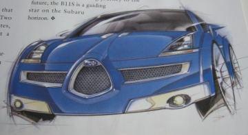 Subaru B11S Concept Car