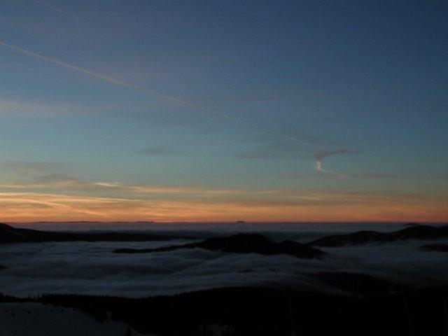 Sunrise as seen from Mt. Hood