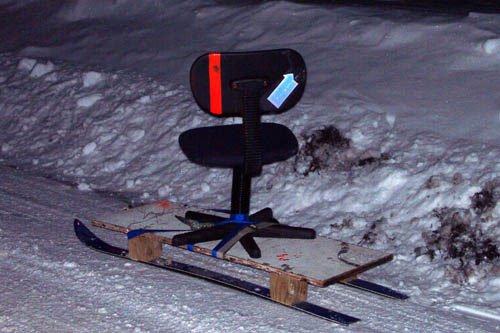 extreeme office chair racing: the chair.