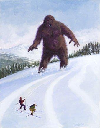 yeti's HATE gorilla steeze