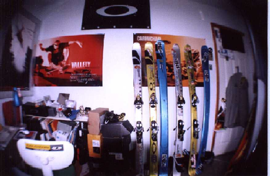 this is my bedroom with my fisheye...