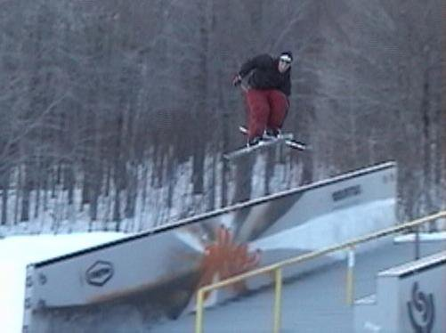 180 over the US Open Ledges