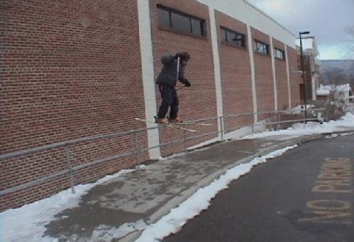 40+ foot curve rail at our school