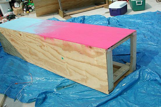 Construction - Almost done, any suggestins on what to put on top of the box that would slid?  Its tw