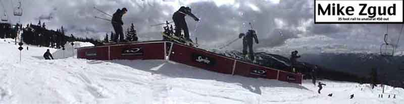 sequence of 450 out on the 35 foot downkink