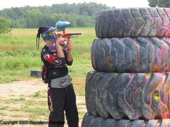 This is me playing on our tournment paintball team at the Woodland Summer 5-man, if you want to see