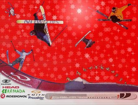 !Hot freeskiing wallpaper!