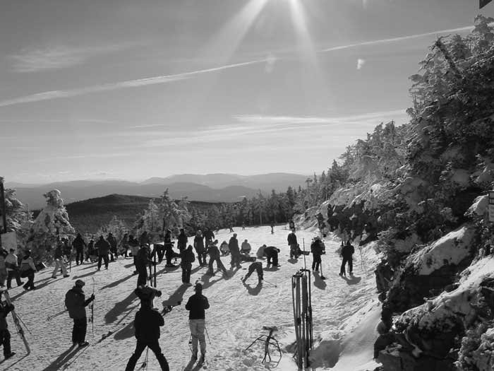 Summit of Killington last October