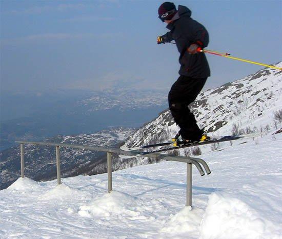 Robin Fagerli railing