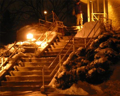 Double Kink Handrail