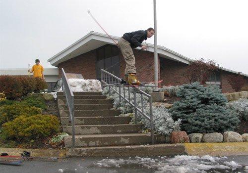 10 Stair Handrail