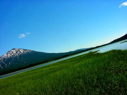 Mt. Bachelor - sweet perspective
