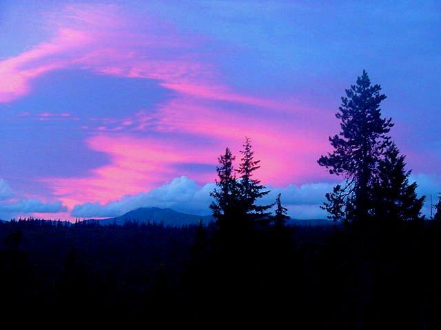 Mt. Hood - Sunset