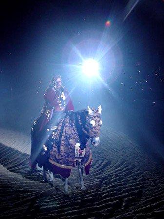 Camelot - true lense flare