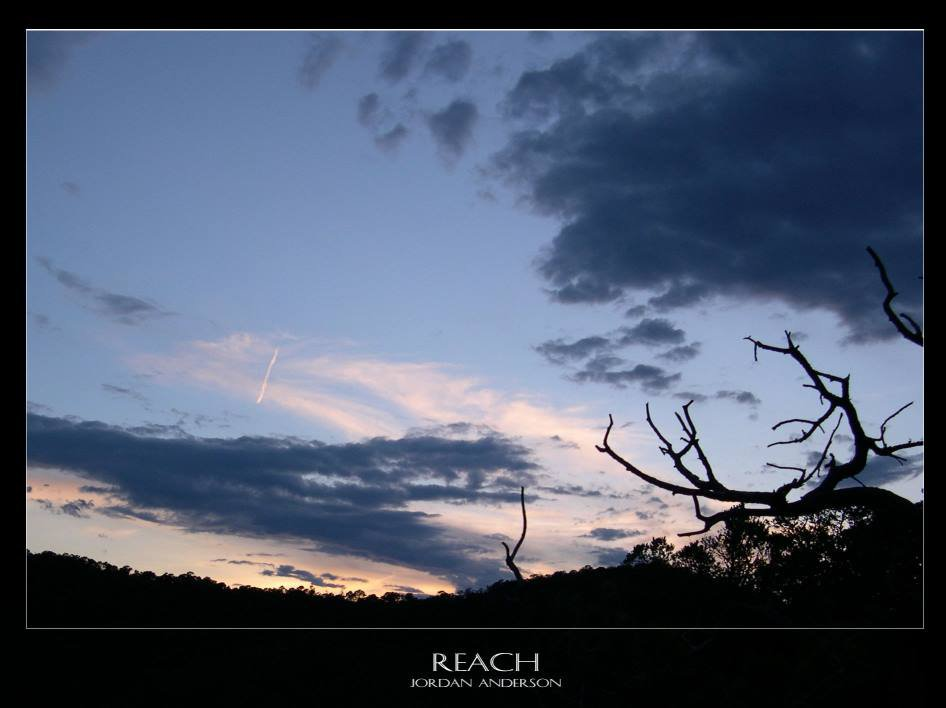 Reach for the sky!!