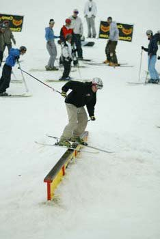 Me learning to slide rails