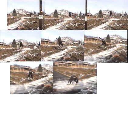 snowboarder doing a fun trick! :) :) ;)