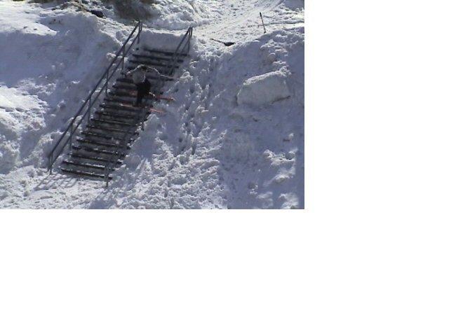 I like this angle of the rail....