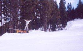 first landed rail slide