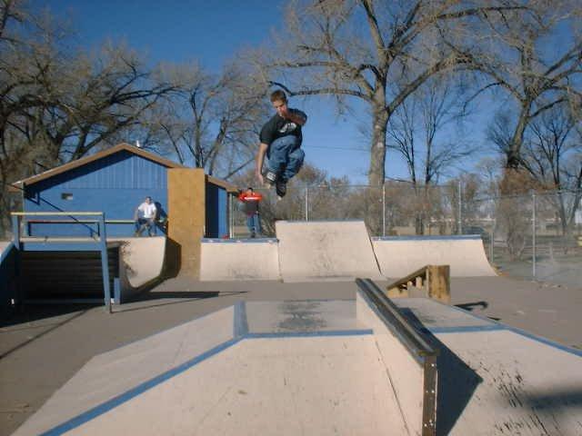 pathetic skate park, going big
