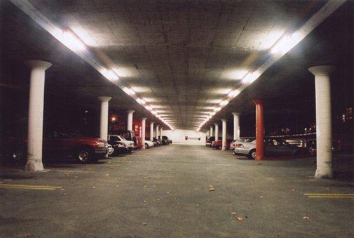 Parking garage in Vancouver.