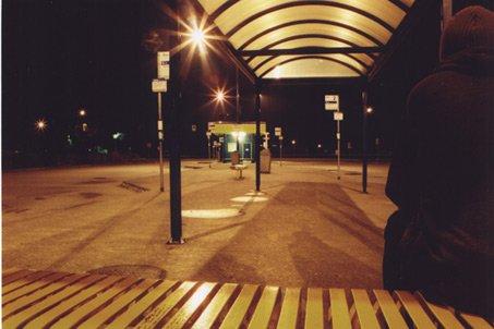 Bus loop in Ladner.