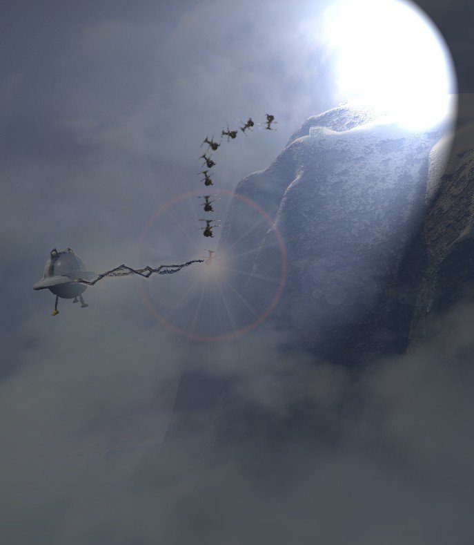 UFO ATTACKS INNOCENT SKIER!!!!!