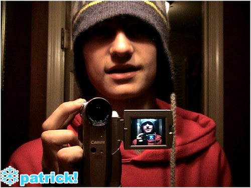 Pitcher avec my new camera
