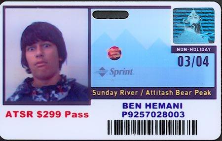my ski pass