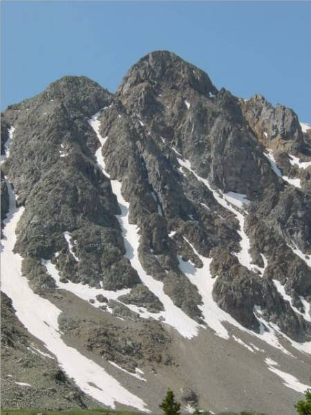 4th o July  gonna ski this one next spring! 13800'+