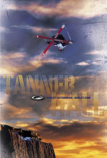 Oakley's New Poster of Tanner