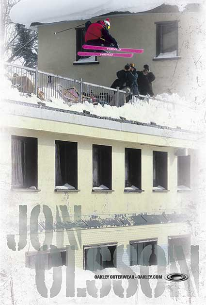 Jon's new Oakley Poster