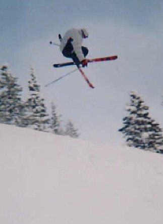 Tail grab in the pipe, kinda ghetto