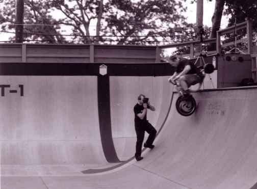 Trike Roll in on a vert ramp