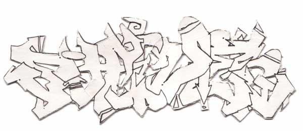 graff- piece