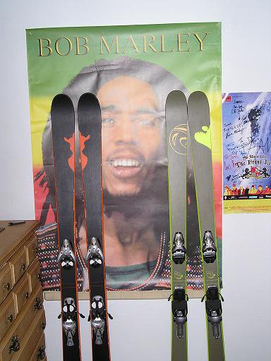 new skis for year, and some bob