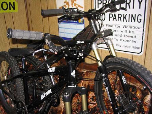 2 of my bikes.