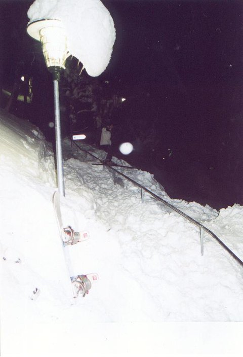 huge handrail