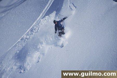 during the mondial of ski
