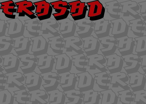 second title screen for movie trashd