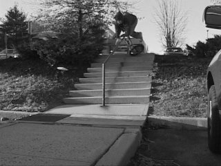 fallin on a rail bmx