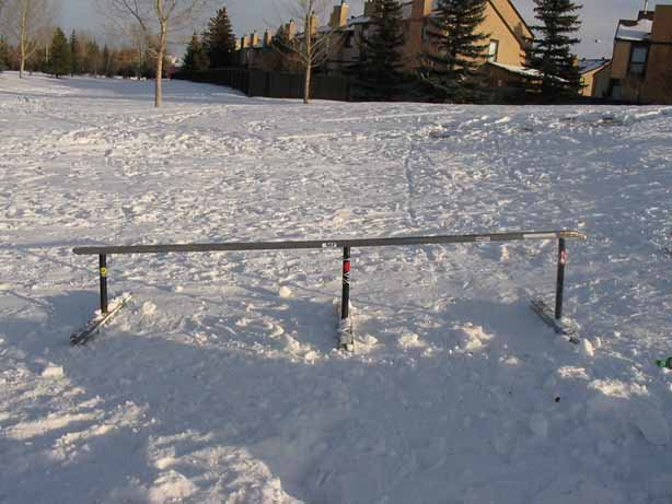 this is my rail that me and my dad made