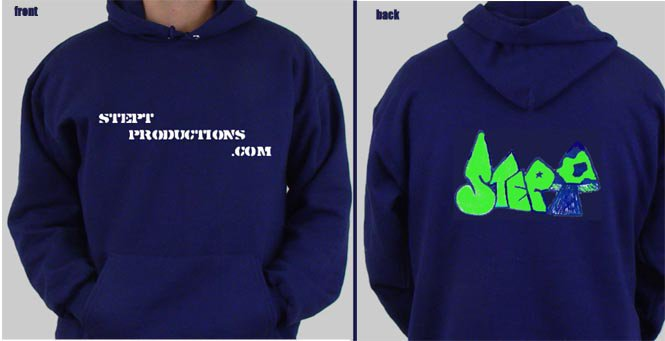 stept productions sweat shirt