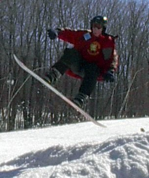 Air at jiminy peak (terrible trick park)