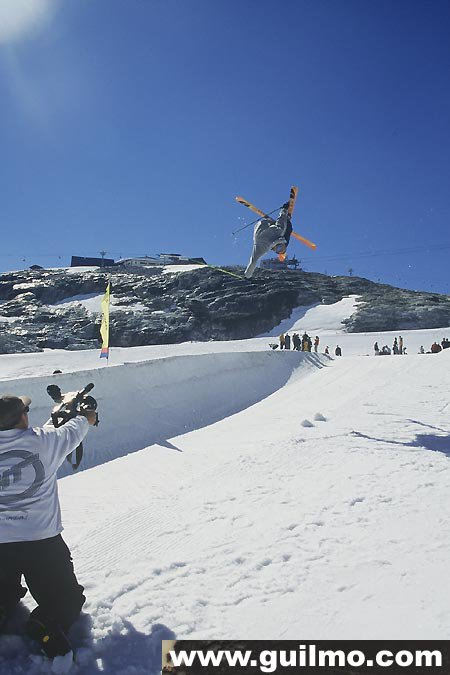 Half Pipe this summer at Tignes
