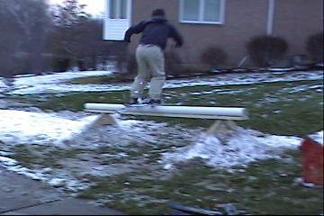 haha, this was my first day sliding rails