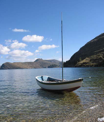 Lac Titicaca in Bolivia! (i went there this summer)