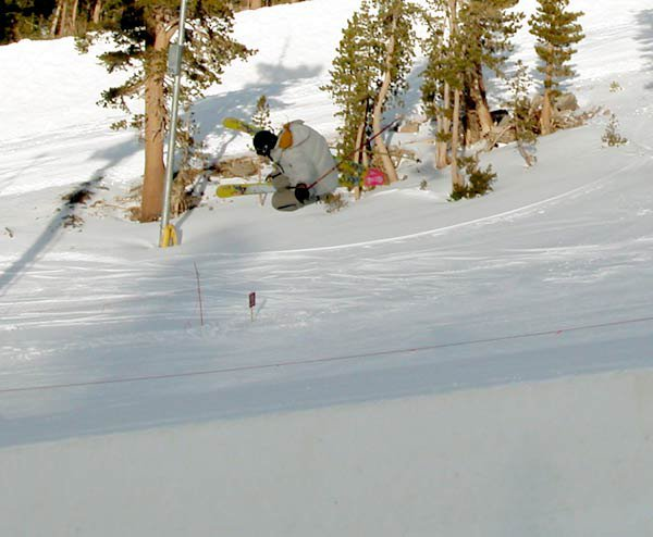 little 7 foot air yesterday in the mini pipe