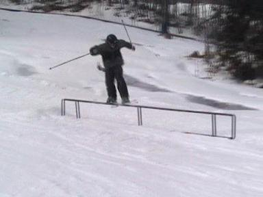 handrail at wachusett