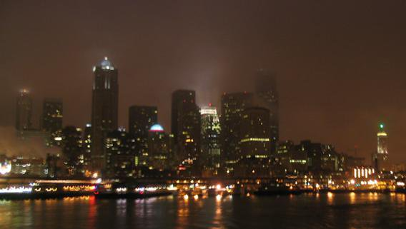 seattle winter... blurred a bit from the ferry